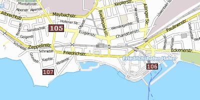 Friedrichshafen Bodensee M 252 Nchen Umgebung